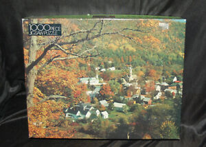 """""""Royalton Vermont"""" 1000 Piece Puzzle Fall Country Jigsaw Houses"""