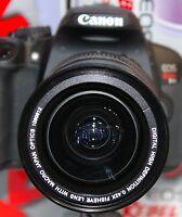PANORAMIC Fisheye  Macro Lens For Canon T3i T5i T4i SL1 58MM THREAD FOR 18-55MM