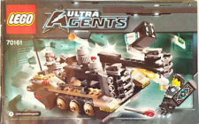 Lego 2014 Ultra Agents Tremor Track Infiltration Instruction Manual Only 70161