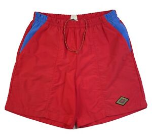 """Cannondale Vintage Men's Shorts Size L Red Made In USD 6"""" Inseam"""