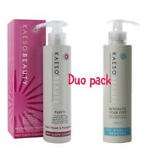 Kaeso Hot Cloth Cleanser & Eye Make-up Remover Duo Pack