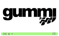 GUMMI Sticker bombed bomb OEM JDM style mile racing DUB Tuning Aufkleber