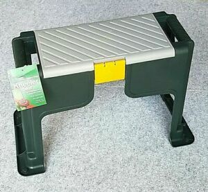 NEW! Portable Garden Kneeler Foam Seat Knee Pad Stool Toolbox with FREE HOSE KIT