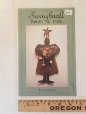 Primitive Doll Sewing Pattern OLD BUTTONS by SUNNYKNOLL Folk Art & Crafts dolls