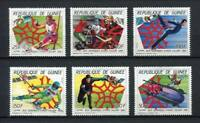 27356) Guinea 1987 MNH New Olympic Games Calgary 6v