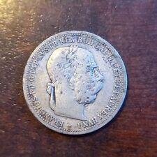 1 Crown Austria-Hungary 1902 Franz Joseph I. Silver Austria