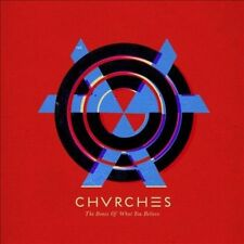 """Chvrches The Bones of What You Believe SEALED 12"""" LP 180gm 2013 GLS0147-01"""