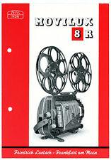 ZEISS IKON Prospekt MOVILUX 8R 8 R Drucktasten - Projektor Broschüre (Y353