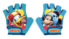 Disney MICKEY MOUSE Kids Bike Cycle Padded Gloves Half Finger Bicycle Size S