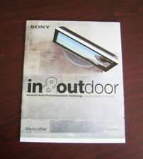 Catalogo Sony In & out door autunno inverno 2005 2006 depliant brochure tv dvd