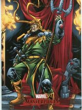 Marvel Masterpieces 2007 Base Card #51 Loki