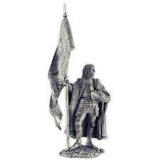 England. Lancaster Banner 15Cent. Tin toy soldier 54mm miniature metal sculpture