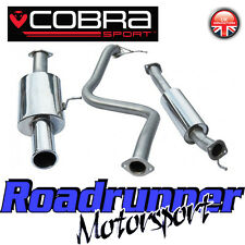 "Cobra Sport Fiesta ST180 ST200 Exhaust System Cat Back 2.5"" Resonate Single FD53"