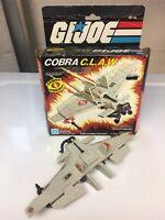 Vintage GI Joe ARAH Cobra C.L.A.W. 100% Complete With Uncut Box And Blueprints