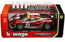 Bburago 1:24 Ferrari Racing 488 Challenge #11 Die-Cast Candy Red 18-26308