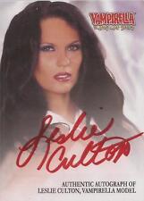 "Vampirella - VA-LC ""Leslie Culton"" Red Autograph Card"