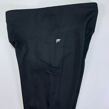 FABLETICS Black High-Waisted Pocket Cold Weather Legging $79.95 NWT XS X-Small
