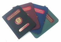 Porta Passaporto Custodia Documento In Plastica Con Display Protezione dfh
