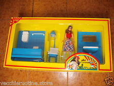 Galba doll patterns furniture and bathroom shower washing doll house