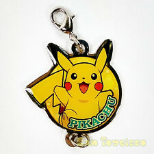 Pokemon BW Movie Metal Keychain - PIKACHU 1.5in Flat Charm Movic Nintendo 2011