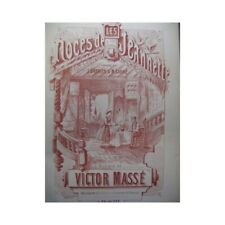 Mass Victor the Wedding of Jeannette Singer Piano 1860 Sheet Music Score