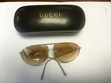 Gucci Metal Frame 100% UVA & UVB Sunglasses for Women