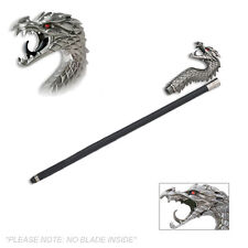 Stare of the Dragon Walking Cane Staff Mobility Stick 35 Inch Long Head Walk