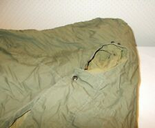 """Us Army Case Mountain Sleeping Bag M-1949 Type I Feather Filled 84"""" x 27"""" Large"""
