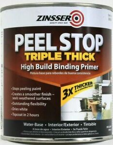 Zinsser Peel Stop Triple Thick Interior Exterior High Build Binding Primer 32 Oz