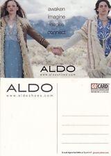ALDO SHOES UNUSED ADVERTISING COLOUR  POSTCARD (d)