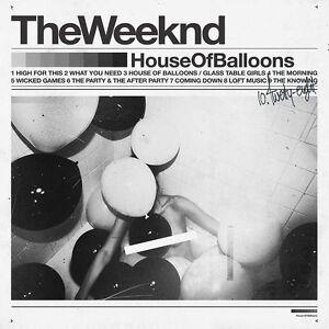 The Weeknd HOUSE OF BALLOONS Debut Mixtape GATEFOLD New Sealed Vinyl 2 LP