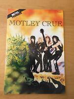 MOTLEY CRUE 1, NM+ (9.4 - 9.6) 1ST PRINT, METAL THUNDER COMICS, 1990, CGC WORTHY