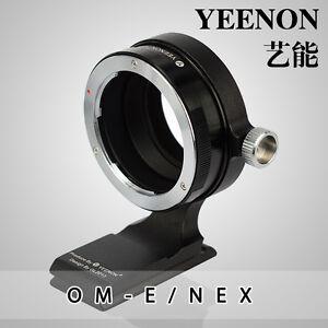 YEENON Olympus OM lens TO SONY E Camera Adapter (With 90º rotating tripod base)