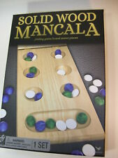 Cardinal Ind .MANCALA GAME.. FOLDING WOOD GAME BOARD w/ All pieces, Instructions