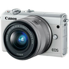 Canon EOS M100 Mirrorless Digital Camera with 15-45mm Lens (White) #2210C011