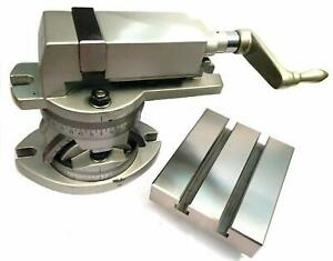 Jaw Width 50 mm Modular Milling Machine Vise & Boring Table- 2 Axis Movement