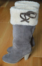 Beautiful Faith Light Brown Suede Winter Knee High Boots.Size 3.Great Condition!