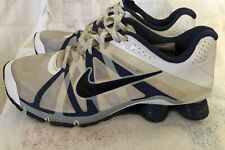 Nike Shox Roadster Athletic Shoes Men's Size US 13 White/Blue
