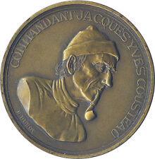 MÉDAILLE COMMANDANT JACQUES-YVES COUSTEAU - CALYPSO