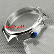 new 42mm Steel watch Case fit eta 6497/6498 Seagull ST36 movement men watch p636