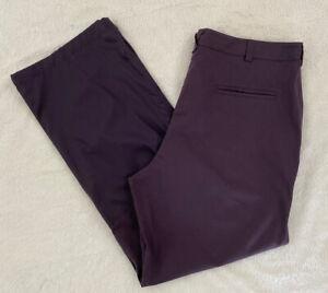 PUMA NWT Mens Golf Tech Pants Nightshade Purple Size 40 New #544903