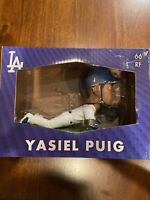 2015 Los Angeles Dodgers Yasiel Puig Diving Catch Bobblehead Stadium Promo