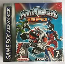 GBA Power Rangers: Space Patrol Delta (2005), Brand New & Factory Sealed