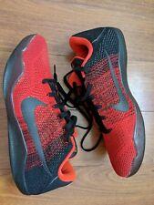 Nike Kobe 11 XI Elite Low Size 13 Achilles Heel zoom insole Black Red VNDS