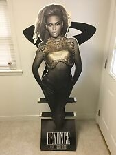 "Beyonce I Am Sasha Fierce 2 Sided 70"" Lifesize Cardboard Cd Promo Standee Rare"