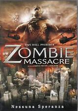 ZOMBIE MASSACRE- DVD USATO VERSIONE NOLEGGIO