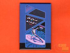 "Discs of Tron side art 2x3"" fridge/locker magnet  arcade Bally Midway"