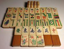 Bambo/Bone Tile for Replacement Mahjong Jong Jongg 1923 LotE