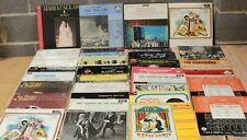 34 x Vinyl Vintage Records Box Set LPs Various Artist OPERA - 232