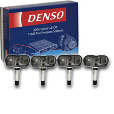 4 pc Denso TPMS Tire Pressure Sensors for Lexus GS300 2006 Monitoring System cu